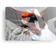 Put your hands together. Canvas Print