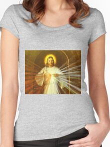 Jesus Christ Women's Fitted Scoop T-Shirt