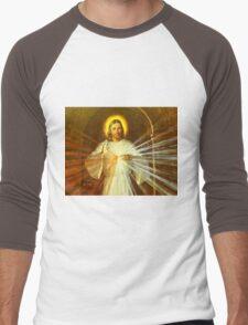 Jesus Christ Men's Baseball ¾ T-Shirt
