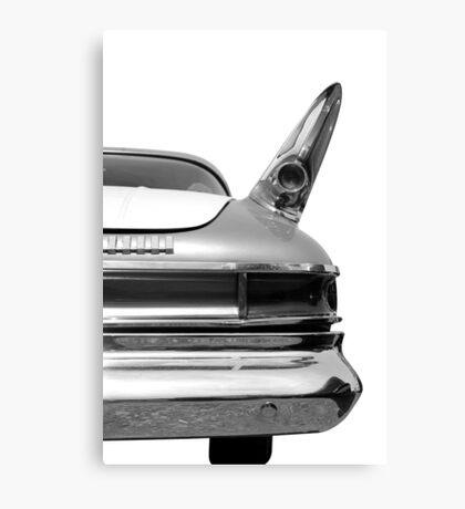 Rear (black&white) Canvas Print