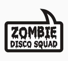 ZOMBIE DISCO SQUAD SPEECH BUBBLE by Zombie Ghetto Kids Clothes