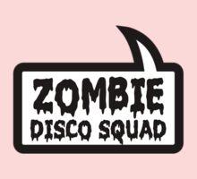 ZOMBIE DISCO SQUAD SPEECH BUBBLE by Zombie Ghetto Baby Tee