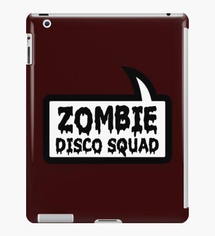 ZOMBIE DISCO SQUAD SPEECH BUBBLE by Zombie Ghetto iPad Case/Skin