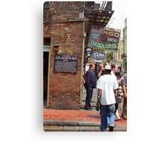 New Orleans Tavern Canvas Print