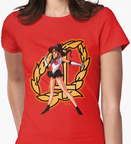 Sailor Jupiter Sailor Scout Womens Fitted T-Shirt