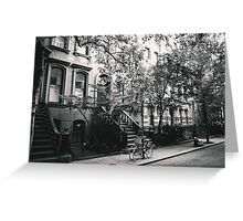 West Village - New York City Greeting Card