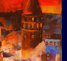 Galata Tower by emel