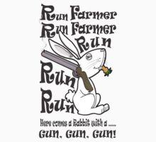 Run Farmer! by MissIllustrator