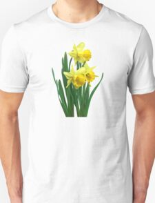 Daffodils Tall and Short Unisex T-Shirt