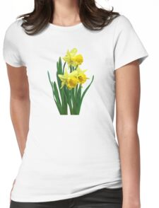 Daffodils Tall and Short Womens Fitted T-Shirt