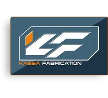 Kassa Fabrication Canvas Print