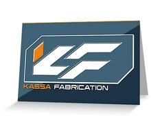 Kassa Fabrication Greeting Card