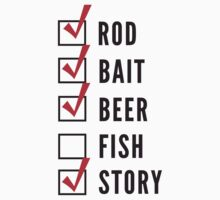 Fishing Checklist by bravos