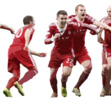 League Cup Winners Sticker