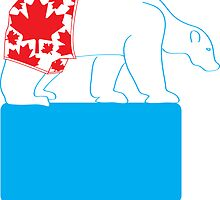 Canadian Polar Bear Pride by dightondesign