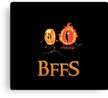 Lord of The Rings - BFFS Canvas Print