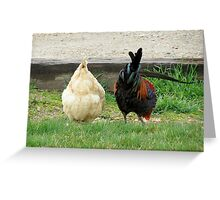 Fowl Butts Greeting Card