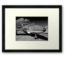 Hawker Hunter FGA.78 aircraft. Framed Print