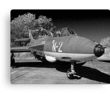 Hawker Hunter FGA.78 aircraft. Canvas Print