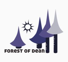 Wyld Forest of Dean t-shirt (in whortleberry) by wyldtee