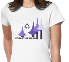 Wyld Forest of Dean t-shirt (in whortleberry) Womens Fitted T-Shirt