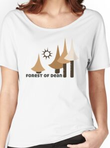 Wyld Forest of Dean t-shirt (in stone) Women's Relaxed Fit T-Shirt