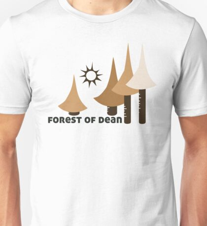 Wyld Forest of Dean t-shirt (in stone) Unisex T-Shirt