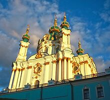St Andrew's Church, Kiev by Maryna Gumenyuk