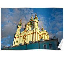 St Andrew's Church, Kiev Poster