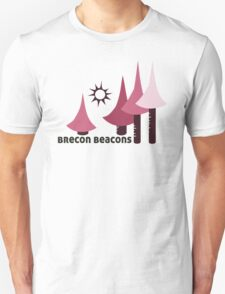 Wyld Brecon Beacons t-shirt (in blossom) Unisex T-Shirt