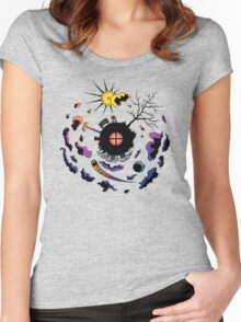 Scene Three-Sixty Women's Fitted Scoop T-Shirt