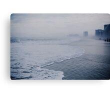 Down the Shore in Atlantic City Canvas Print