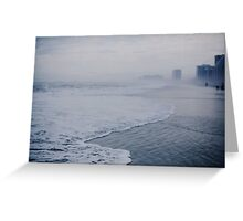 Down the Shore in Atlantic City Greeting Card