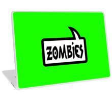 ZOMBIES SPEECH BUBBLE by Zombie Ghetto Laptop Skin
