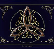 First Celtic Triquetra by Bluesax