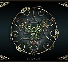 Green Romantic Celtic Triskel by Bluesax