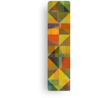 Wood and Angles Canvas Print