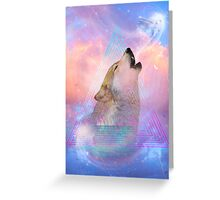 Dream By Day (Wolf Dreams Remix) Greeting Card
