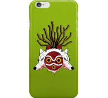 Wolf Princess (Color) iPhone Case/Skin