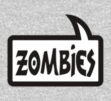 ZOMBIES SPEECH BUBBLE by Zombie Ghetto Kids Tee