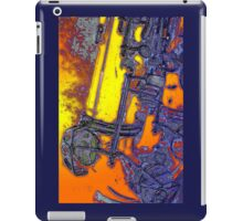 abstract sax keywork  iPad Case/Skin