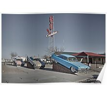 Cadillac RV park  Poster