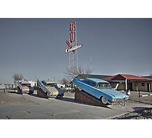 Cadillac RV park  Photographic Print