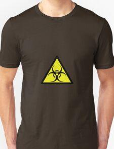 ZOMBIE APOCALYPSE HAZMAT SIGN by Zombie Ghetto T-Shirt