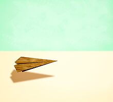 Paper Airplanes of Wood 9 by YoPedro