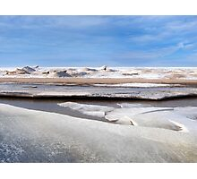 Ice Shelf Melt Photographic Print