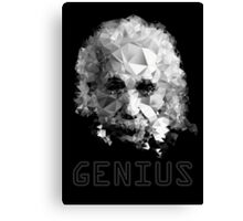 Genius Canvas Print