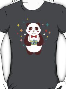Cute Panda Photographer  T-Shirt