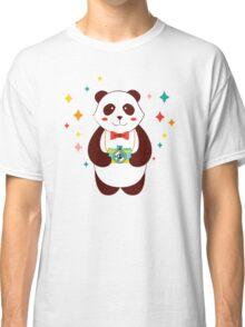Cute Panda Photographer  Classic T-Shirt