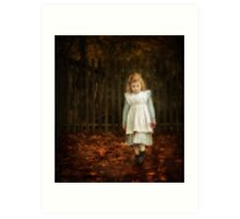 Lonley Child Art Print